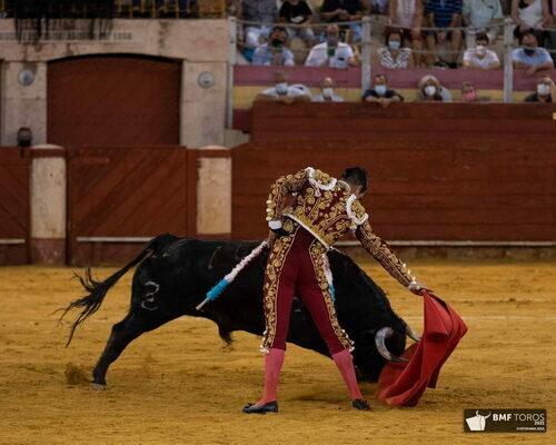 Almería Morante El Juli y Mazanares