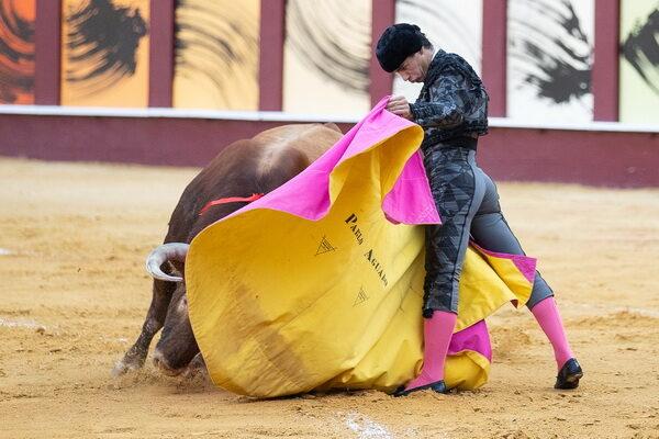 Pablo Aguado capote Málaga