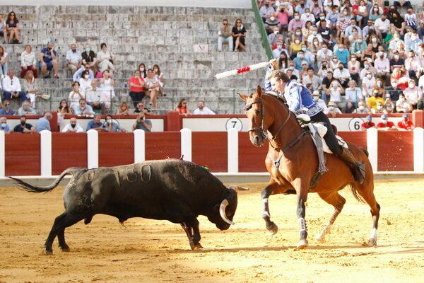 Pablo Hermoso, Sergio Galán y Guillermo Hermoso en Valladolid