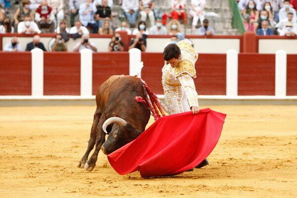 Tomás Rufo, que tomaba la alternativa en Valladolid