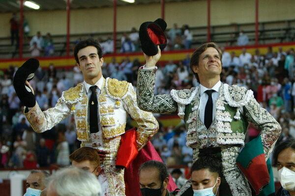El Juli y Tomás Rufo en Valladolid